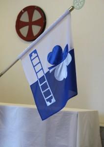 Lippukunnan uusi lippu